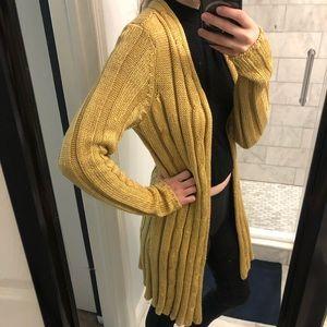 Gold-ish Yellow Cardigan